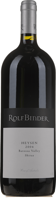 ROLF BINDER VERITAS WINERY Heysen Vineyard Shiraz, Barossa Valley 2004