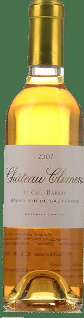 CHATEAU CLIMENS 1er cru classe, Sauternes-Barsac 2007