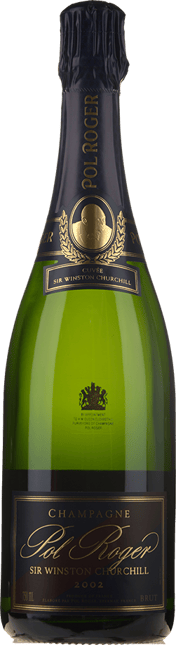 POL ROGER Cuvee Sir Winston Churchill Brut, Champagne 2002