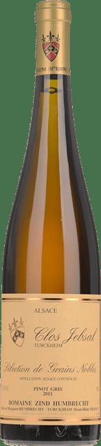 DOMAINE ZIND HUMBRECHT Clos Jebsal Selection de Grains Nobles Pinot Gris, Turckheim 2011