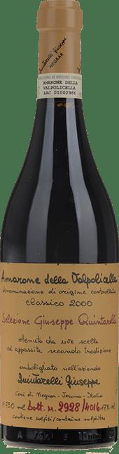 QUINTARELLI Classico Selezione Giuseppe Quintarelli, Amarone della Valpolicella DOCG 2000