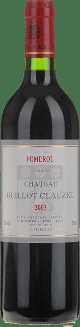 CHATEAU GUILLOT CLAUZEL, Pomerol 2003
