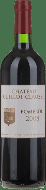 CHATEAU GUILLOT CLAUZEL, Pomerol 2008