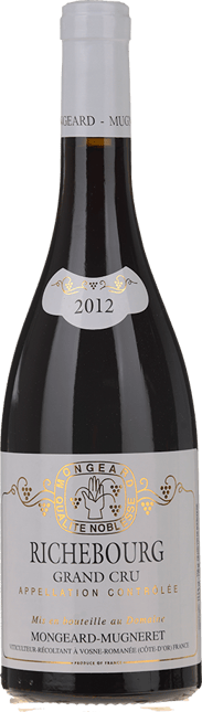 DOMAINE MONGEARD-MUGNERET Grand Cru, Richebourg 2012