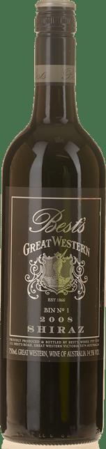 BEST'S WINES Bin 1 Great Western Shiraz, Grampians 2008