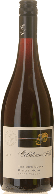 COLDSTREAM HILLS The Dr's Block Pinot Noir, Yarra Valley 2016