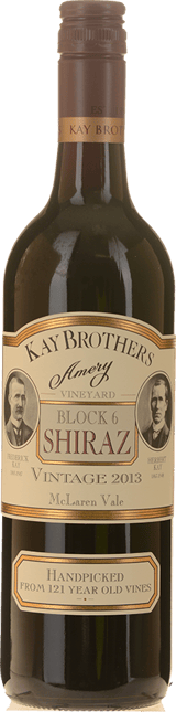 KAY BROS AMERY Block 6 Old Vine Shiraz, McLaren Vale 2013