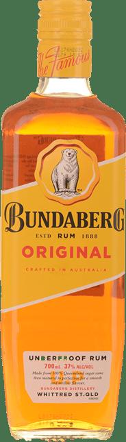 BUNDABERG 37% ABV, Bundaberg NV