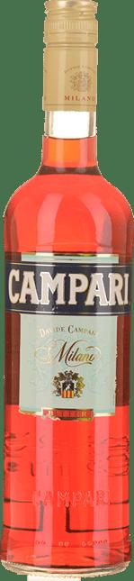 CAMPARI Liqueur 25% ABV, Italy NV