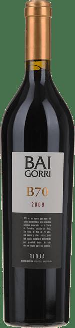 BODEGAS BAIGORRI B70 , Rioja 2009