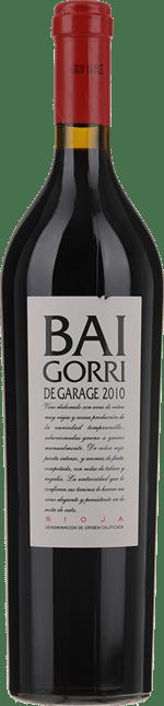 BODEGAS BAIGORRI De Garage , Rioja 2010