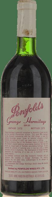 PENFOLDS Bin 95 Grange Shiraz, South Australia 1978