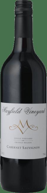 MAYFIELD VINEYARD Cabernet Sauvignon, Orange 2012