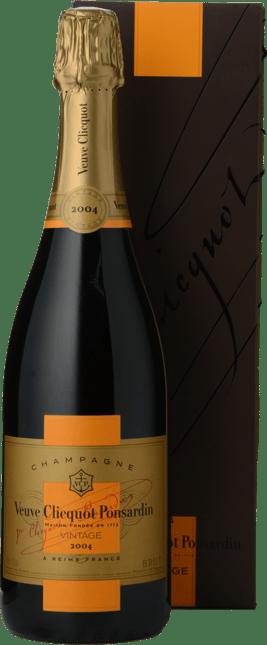 VEUVE CLICQUOT PONSARDIN Vintage Brut, Champagne 2004
