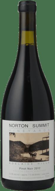 NORTON SUMMIT VINEYARDS Pinot Noir, Adelaide Hills 2012