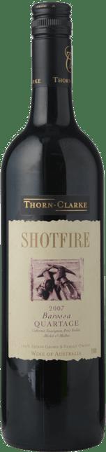 THORN-CLARKE Shotfire Ridge Quartage Cabernet Blend, Barossa Valley 2007