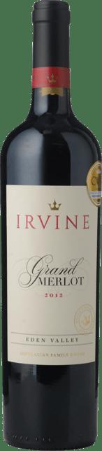 IRVINE Grand Merlot, Eden Valley 2012