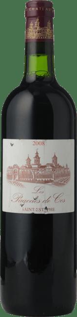 LES PAGODES DE COS Second wine of Chateau Cos d'Estournel, St-Estephe 2008