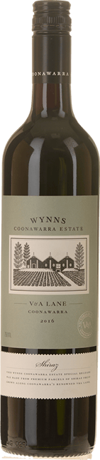 WYNNS COONAWARRA ESTATE V & A  Lane Shiraz, Coonawarra 2016