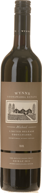 WYNNS COONAWARRA ESTATE Michael Shiraz, Coonawarra 2014