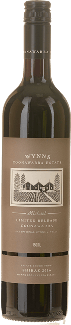 WYNNS COONAWARRA ESTATE Michael Shiraz, Coonawarra 2016