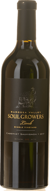 SOUL GROWERS Limb Single Vineyard Cabernet, Barossa Valley 2017
