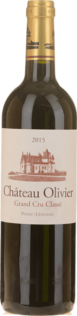 CHATEAU OLIVIER Rouge Cru classe, Graves 2015