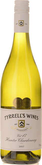 TYRRELL'S Vat 47 Chardonnay, Hunter Valley 2017