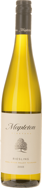 MAPLETON Riesling, Coal River Valley 2018