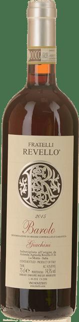 FRATELLI REVELLO Vigna Giachini, Barolo 2015