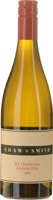 SHAW & SMITH M3 Vineyard Chardonnay, Adelaide Hills 2018