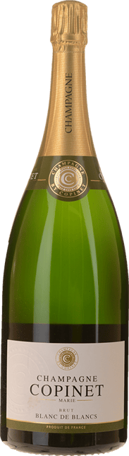 CHAMPAGNE MARIE-COPINET Blanc de Blancs, Champagne NV