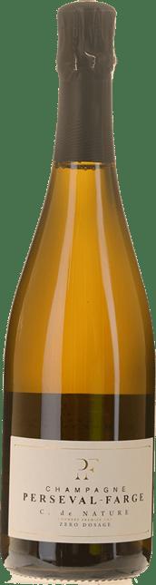 CHAMPAGNE PERSEVAL-FARGE C. de Nature Premier Cru Zero Dosage, Champagne NV