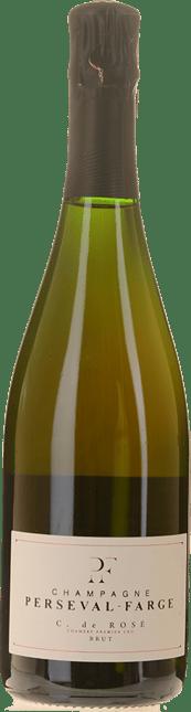 CHAMPAGNE PERSEVAL-FARGE C. de Rose Premier Cru, Champagne NV
