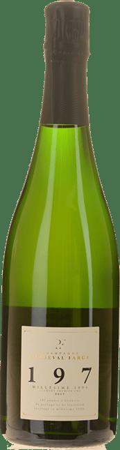 CHAMPAGNE PERSEVAL-FARGE 197 Millesimes Premier Cru, Champagne 2005