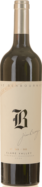 JIM BARRY WINES The Benbournie Cabernet, Clare Valley 2004