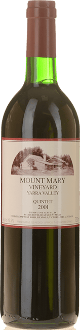 MOUNT MARY Quintet Cabernet Blend, Yarra Valley 2001
