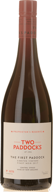 TWO PADDOCKS Proprietor's Reserve First Paddock Pinot Noir, Central Otago 2017