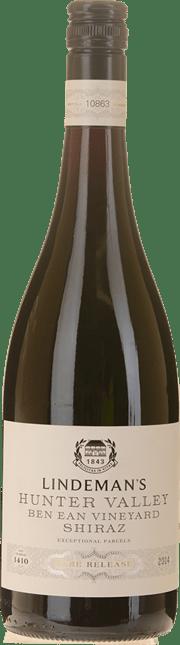 LINDEMANS Rare Release Bin 1410 Ben Ean Vineyard Shiraz, Hunter Valley 2014