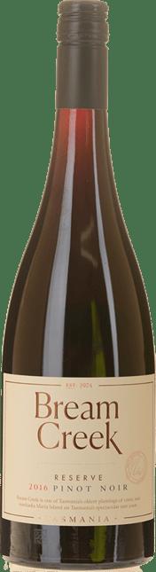 BREAM CREEK VINEYARD Reserve Pinot Noir, Southern Tasmania 2016