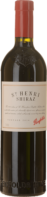 PENFOLDS St. Henri (Cork) Shiraz, South Australia 2016