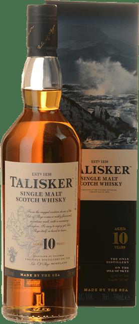 TALISKER 10 Year Old Single Malt Whisky 45.8% ABV, Skye NV