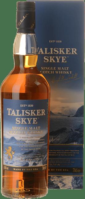 TALISKER Skye Single Malt Scotch Whisky 45.8% ABV, Skye NV