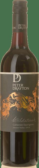 PETER DRAYTON WINES Wildstreak Cabernet Sauvignon, Hunter Valley 2018