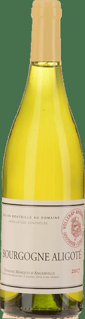 DOMAINE MARQUIS D'ANGERVILLE Bourgogne Aligote 2017