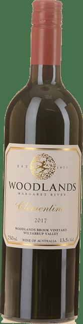WOODLANDS Clementine Cabernet Malbec Merlot, Margaret River 2017