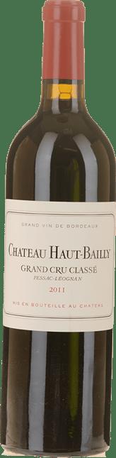 CHATEAU HAUT-BAILLY Grand cru classe, Pessac-Leognan 2011