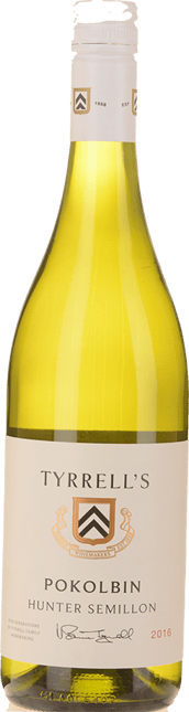 TYRRELL'S Pokolbin Semillon, Hunter Valley 2016