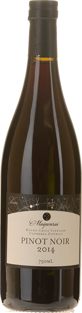 MAIPENRAI VINEYARD Maipenrai Rogha Crois Vineyard Pinot Noir, Canberra District 2014