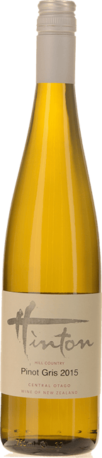 HINTON Hill Country Pinot Gris, Central Otago 2015